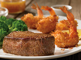 Sirloin & Coconut Shrimp