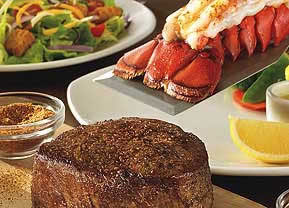 Victoria's Filet and Lobster Tail