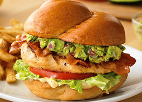 Wood-Grilled California Chicken Sandwich