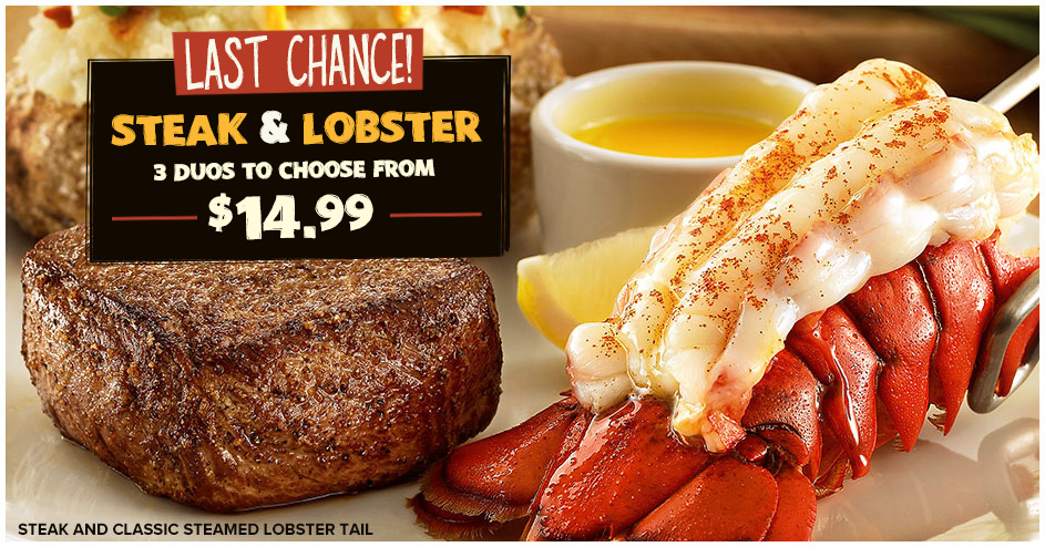 Steak and Lobster is back for a limited time
