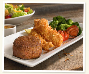 Outback Victoria's Filet® Mignon & Coconut Lobster