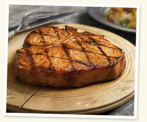 Wood-Fire Grilled Pork Porterhouse