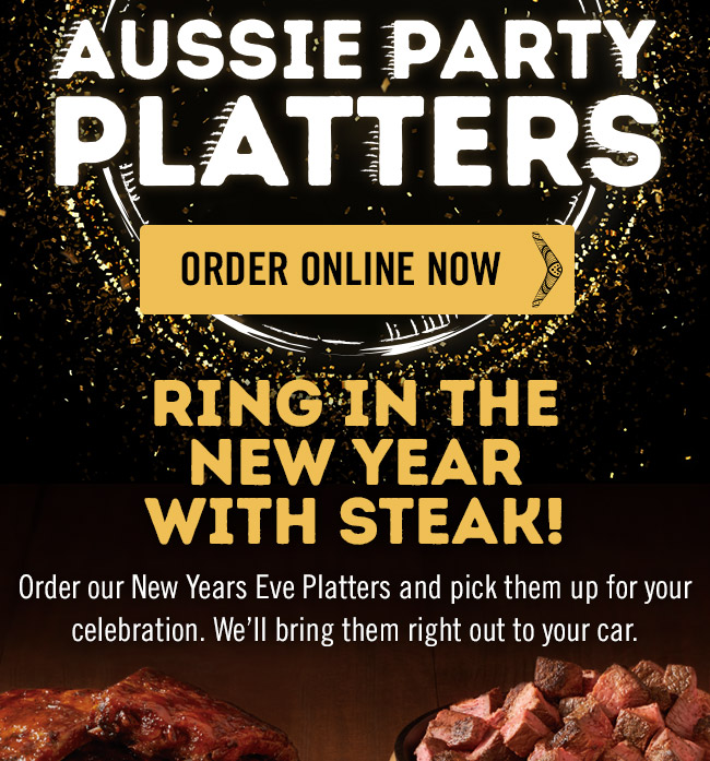Aussie Party Platters