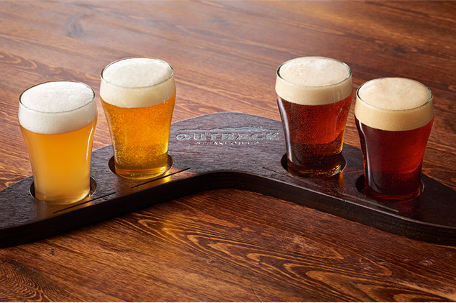 Boomerang Beer Flights