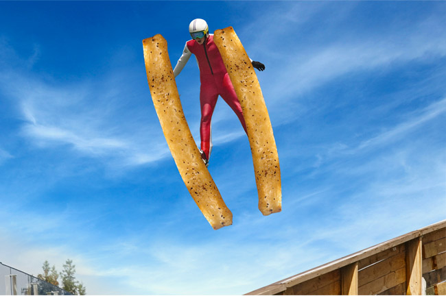 Jump for Aussie Cheese Fries!