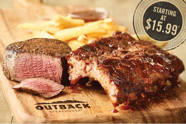 New! Steak & Ribs