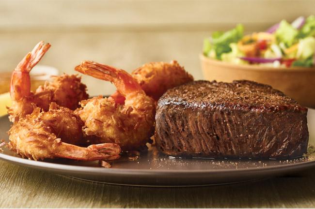 Sirloin & Shrimp