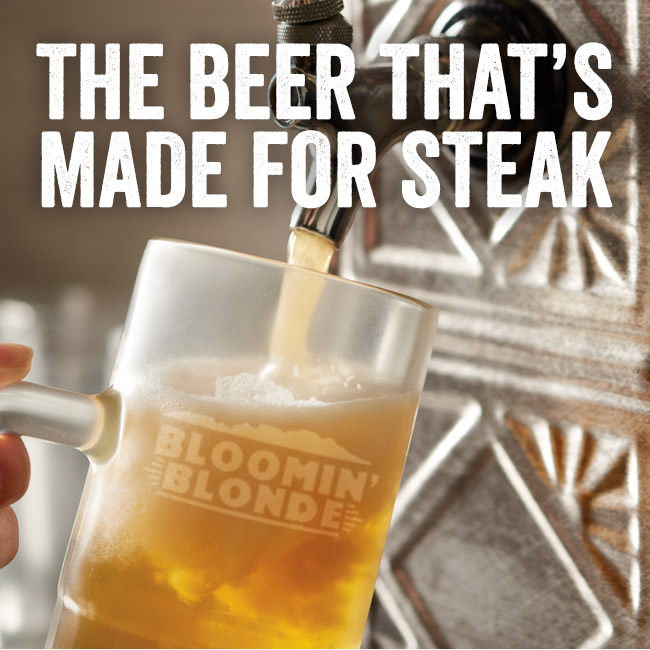 Bloomin' Blonde Ale - The Beer That's Made for Steak