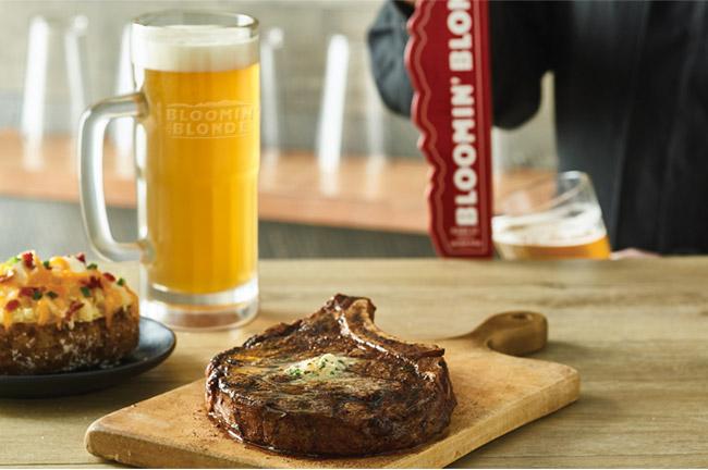 Bloomin' Blonde Ale - The STEAK & BEER Beer