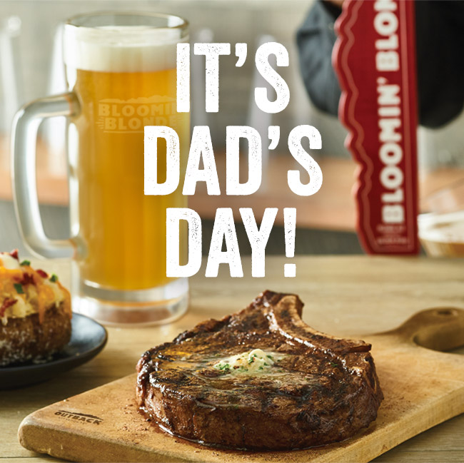 It's Dad's Day!
