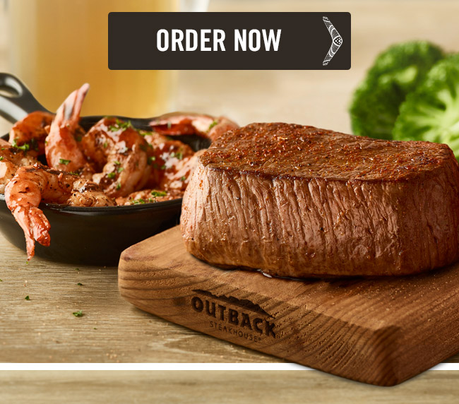 A tender, juicy steak paired with six wood-fire grilled shrimp brushed with your choice of sauce.