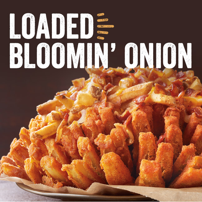 Loaded Bloomin' Onion