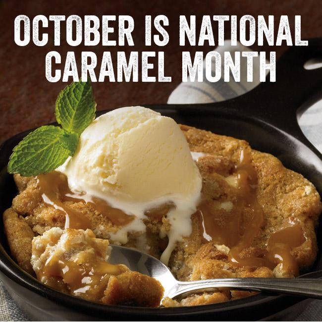 October is National Caramel Month