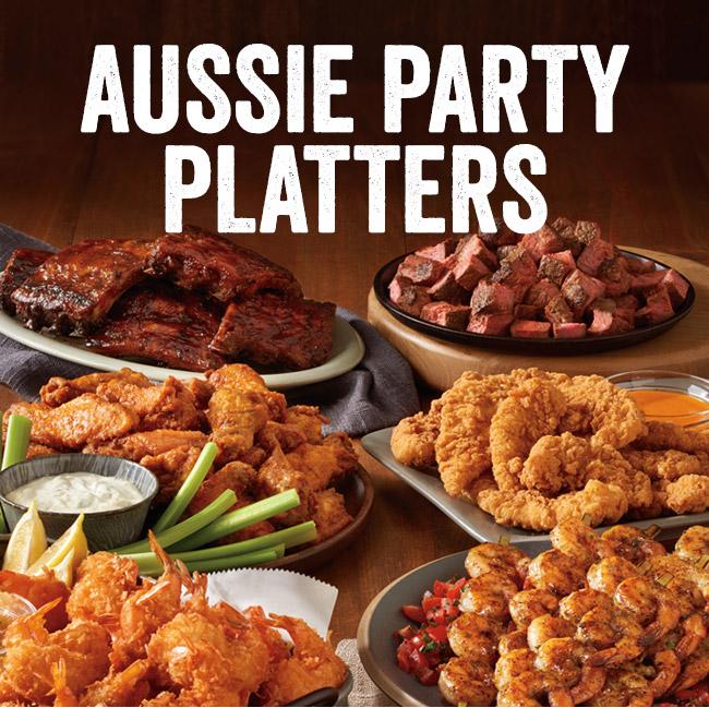Aussie Party Platters