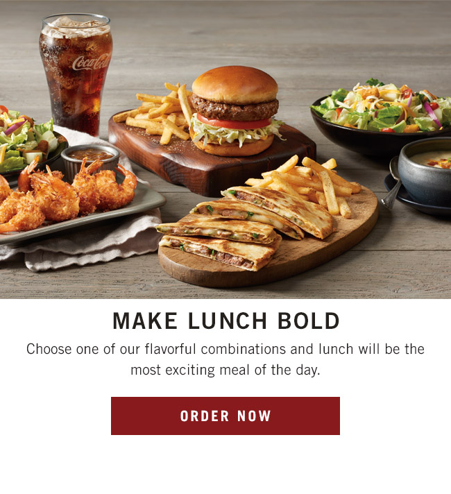 Make Lunch Bold - Choose one of our flavorful combinations and lunch will be the most exciting meal of the day.