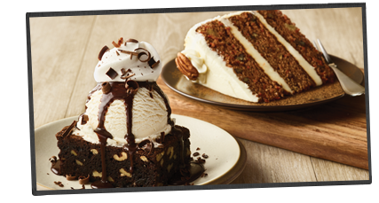 Triple Layer Carrot Cake Outback