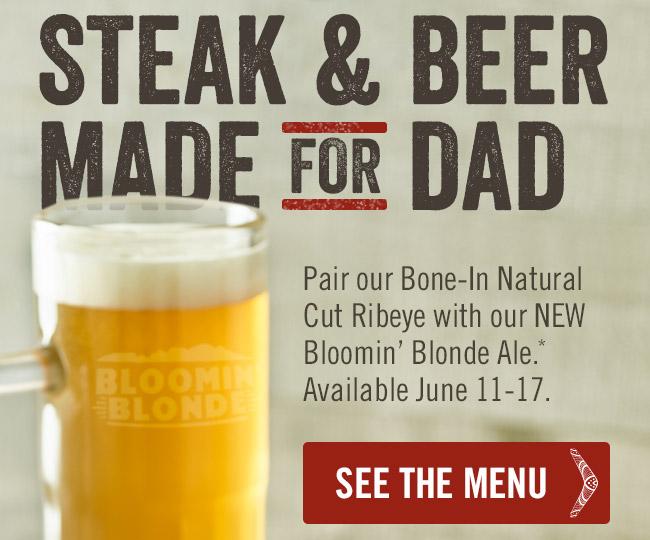 Steak & Beer Made for Dad