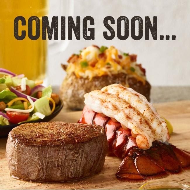 Steak & Lobster Coming Soon...