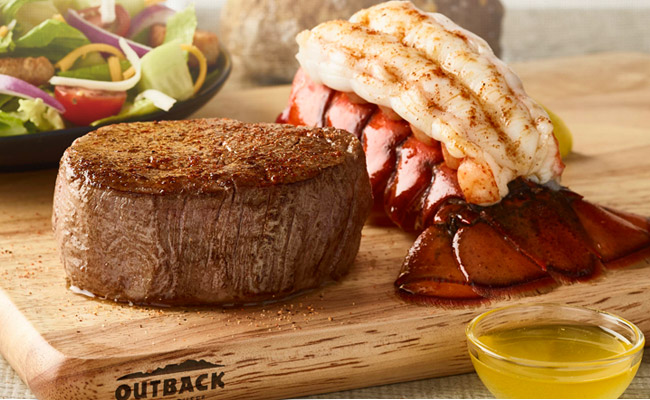 These are the final days to pair our tender, juicy steak with a steamed lobster tail. Sweeten your meal when you choose one of the sweet deals below.