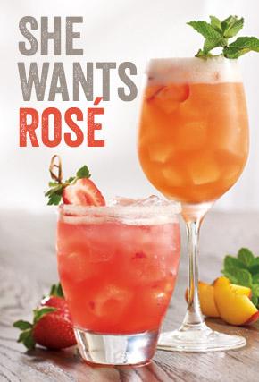 She wants Rosé